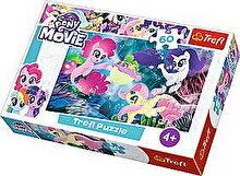 Trefl Puzzle My Little Pony - Regatul de sub apa, 60 piese