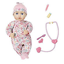 Zapf Baby Annabell - Papusa Milly la doctor, 43 cm