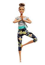 Barbie Papusa Barbie flexibila Made To Move, mulatra