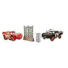 Mattel Cars 3 - Set 2 masinute Crazy 8 Crasher Fulger McQueen si APB
