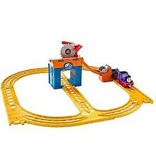 Fisher Price Thomas & Friends - Set trenulet O zi cu Charlie la mina