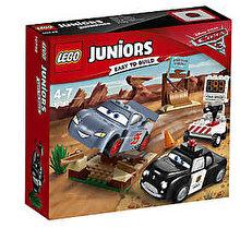 LEGO Juniors - Cars 3, Antrenamentul de viteza al lui Willy 10742