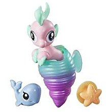 My Little Pony Movie, Set 2 figurine ponei de mare - Crystal Pearl