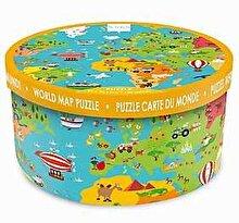 Scratch Puzzle Harta lumii, 150 piese