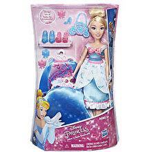 Disney Princess - Papusa Cenusareasa, cu rochita fashion