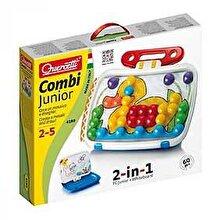 Quercetti Combi Junior - Mozaic 2 in 1, 60 piese