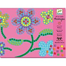 Djeco Kit creativ Mozaic - Flori