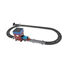Fisher Price Thomas & Friends - Set trenulet 2 in 1 Thomas la capat de linie
