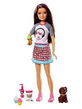 Barbie Set de joaca Barbie si accesorii prajituri