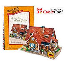 CubicFun Puzzle 3D Casa rurala Germania, 37 piese