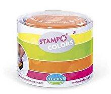AladinE Set creativ Stampo Colors, 4 tusiere - Culori fluorescente