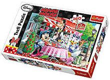 Trefl Puzzle Minnie La cafea, 160 piese