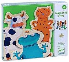 Djeco Joc creativ magnetic - Animale amuzante
