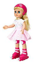 Maia Papusa Maia pe role outfit alb-roz