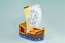 Calafant Joc constructie carton, Corabia Piratilor
