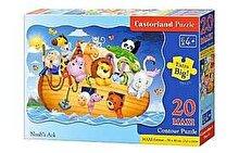 Castorland Puzzle maxi Arca lui Noe, 20 piese