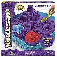 Spin Master Kinetic Sand - Set nisip kinetic Castel, mov
