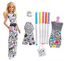 Barbie Set de joaca Barbie Fashion Crayola