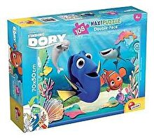 Lisciani Puzzle maxi 2 in 1 - Finding Dory, Dory emotionata, 108 piese