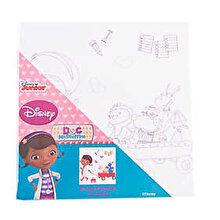 Disney Set panza pictura cu coloriaj Doctorita Plusica