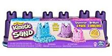 Spin Master Kinetic Sand - Set nisip kinetic 3 culori