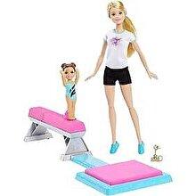 Barbie Set de joaca - Barbie Papusa Gimnasta