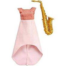 Barbie Set Barbie Hainute si Accesorii Muzica Jazz