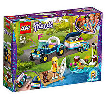 LEGO Friends, Vehiculul cu remorca al Stephaniei 41364