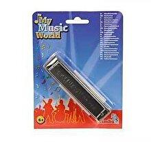 Simba My Music World - Muzicuta metalica, 13 cm