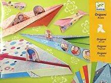 Djeco Kit origami - Avioane pentru fetite