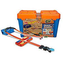 Hot Wheels - Set de joaca Track Builder cutie cascadorii