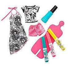 Barbie Set de joaca Barbie Crayola, roz cu negru