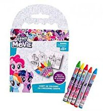 My Little Pony Set Caiet colorat si 5 creioane cerate My Little Pony