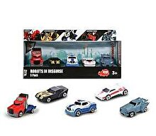 Dickie Toys Transformers Robots in Disguise, set 5 masinute