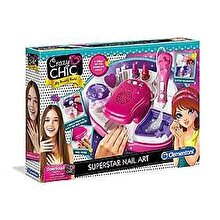 Clementoni Crazy Chic, Set Manichiura de Superstar