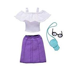 Barbie Set Barbie Hainute si Accesorii, geanta si ochelari