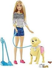 Barbie Papusa Barbie cu catel si accesorii