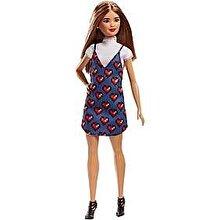 Barbie Papusa Barbie Fashionistas cu rochie albastra