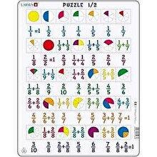Larsen Puzzle Fractii, 35 Piese