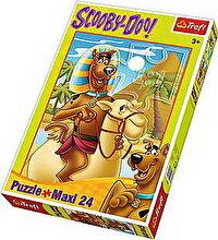 Trefl Puzzle maxi Peripetii cu Scooby Doo in Egipt, 24 piese