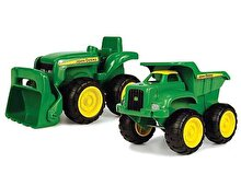 Tomy John Deere, Set Mini tractor si camion