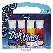 Play-Doh, Set Doh-Vinci Deco Pop 4 culori - Bold