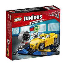 LEGO Juniors - Cars 3, Simulatorul de curse Cruz Ramirez 10731