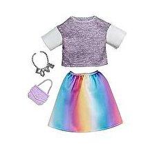 Barbie Set Barbie Hainute si Accesorii, colier si geanta