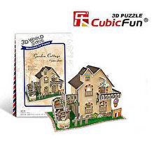 CubicFun Puzzle 3D Casa cu gradina, 36 piese