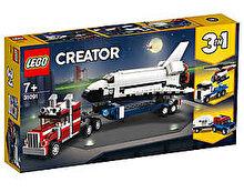 LEGO Creator 3 in 1, Transportorul navetei spatiale 31091
