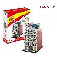 CubicFun Puzzle 3D Casa Battlo, 68 piese