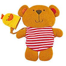 Hape Set manusa de baie Teddy si Ratusca