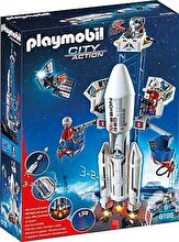 Playmobil City Action - Space, Racheta spatiala cu statie de lansare