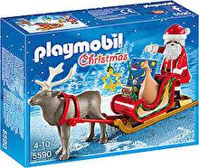 Playmobil Christmas, Sania lui Mos Craciun cu ren
